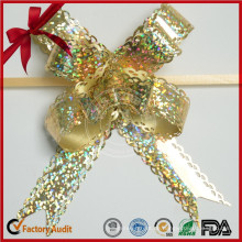 Metallic Craft Gold Strenge Qualitätskontrolle Butterfly Pull Bow