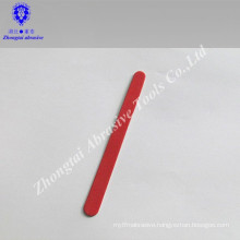 OEM simple wood nail tools emery board nail file for promotion