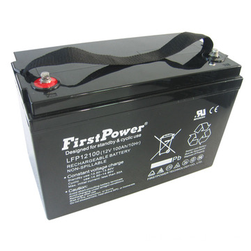 Batería Deep Cycle Battery 12V100AH ​​Power Trolley Battery