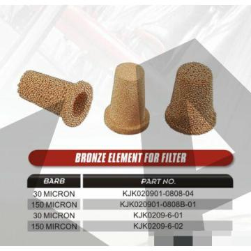 sintered brass fuel filters