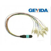 Multimode Om3 MPO-MPO Fiber Optic Patch Cord