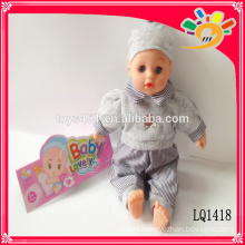 toy doll lifelike reborn baby dolls with IC 14 inch lovely vinyl waterproof