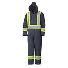 Quilted Cotton Duck Safety Coverall