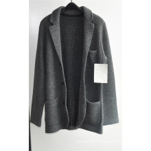 Winter Fashion Lapel Knitting Men Cardigan Coat Sweater with Button