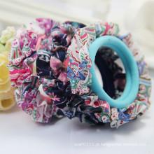 Bandas elásticas do cabelo de toalha do laço colorido da forma das meninas (JE1563)