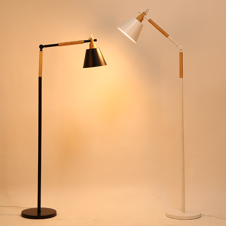 Unique Wooden Floor Lamps