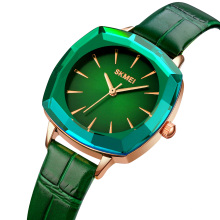 SKMEI 1795  Women's Leather Strap Watch Luxury Quartz Watches Waterproof
