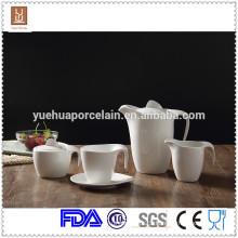 Ceramic dinnerware modern ceramic tea set/milk jar/sugar pot set