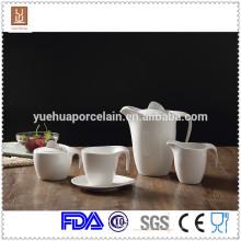 Cerâmica dinnerware conjunto de chá de cerâmica moderna / milk jar / sugar pot set