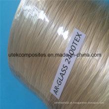2400tex Ar Spray up Roving fibra de vidro para fazer Grc composto