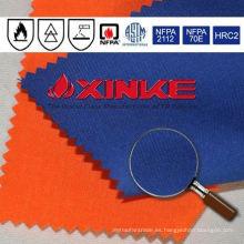 Tela a prueba de fuego de fibra de aramida IIIA para uniformes de electricista