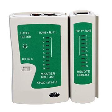 RJ45 Rj12 R5 Cat5 CAT6 UTP Network LAN Cable Tester
