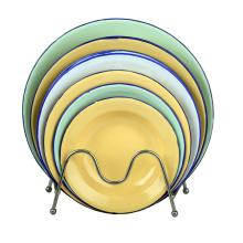 2015 Assiette de soupe en émail haute qualité 14-26cm