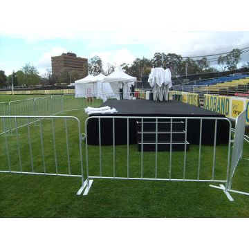 Durable Hot Dipped Galvanized Crowd Control Barrier Mesh