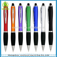 Hot selling touch screen stylus pen with black or colorful touch