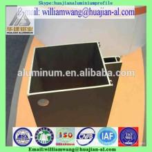powder coated aluminium profile for curtain wall, anodized windows frame, wood grain aluminium profile for windows