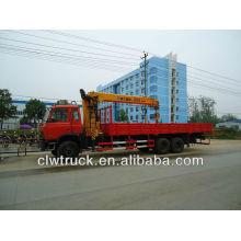 XCMG grúa sobre camión de 12 toneladas