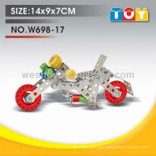 Los nuevos tipos del metal DIY del juguete de la motocicleta para el niño