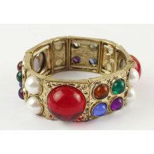 Nice Design Multicolor Resin Bangles Pearl Bracelets And Bangles BA34