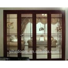 Aluminium Glas Falttür für Terrasse