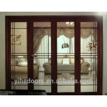 aluminium glass folding door for patio