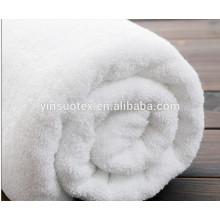 Günstige Großhandel Bad Zimmer Hotel 100% Baumwolle weiß Handtuch