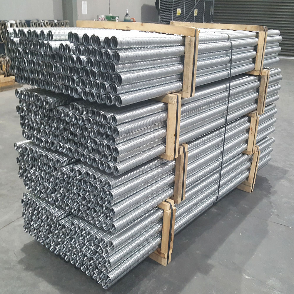 prefabricated metal pipe package