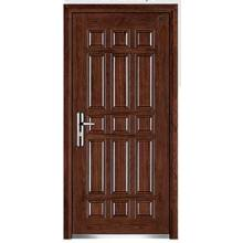 Top Security Steel Wood Armored Door