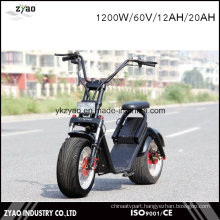 Newest High Collocation Electric Scooter 60V LED Light with Shock Absorber