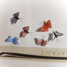 Artesanato de borboleta faça você mesmo