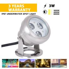 3W DMX Swimming Pool LED Unterwasserlicht