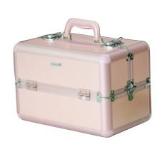 new product aluminum cosmetic display case,aluminum beauty case,aluminum makeup organizer