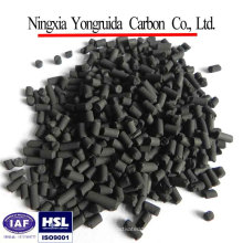 3.0 mm coal columnar activated carbon for industrial wast gas puification