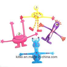 2016 Новый монстр Bendables гибкая фигура игрушки для детей