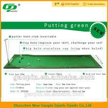 2018 NEWEST portátil mini golf putting green para interior