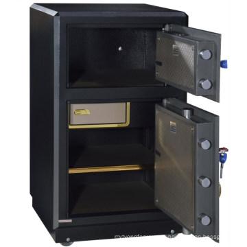 SteelArt большого размера надежном банке тяжелые два fingerpring дверей сейфов шкафов