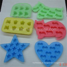 FDA / LFGB em forma de molde de gelo de silicone