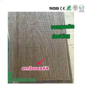 Деревянное зерно напольные Co-Штранг-прессования древесно-пластиковый композит настил WPC настилов