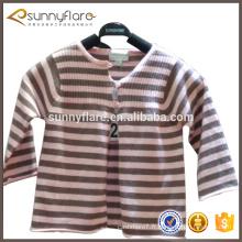 usine en gros 100% cachemire tricoté cardigan pull enfants