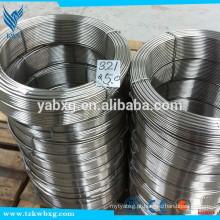 Fio de solda de aço inoxidável usado para hardbanding de tubos de perfuração