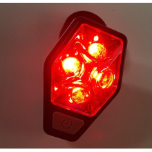 Red Led Safety rear bike light