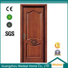 Настроить композитную деревянную межкомнатную дверь с белой грунтовкой