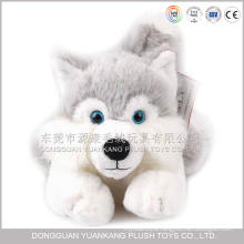 ICTI audited plush toy factory stuffed wolf plush wolf dog toy