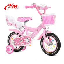 Stahlmaterial 14-Zoll-City-Bike mit Modedesign / Pink 4 Rad Bicicle Fahrrad Kinder / Xingtai Fabrik Yimei Kinder Fahrrad