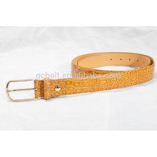 women fashionable PU waist belt for dress