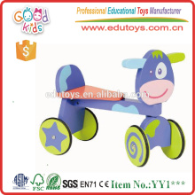 Yiwu China Hot Sale New Dushi Ride On Toy Wooden Walking Bike for Wholesale