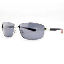 High Quality Fashion Men Metal Polarized Sport Sunglasses (14108)