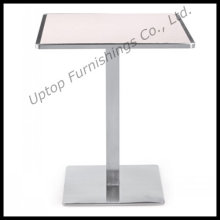 Square Top Steel Edge Wooden Restaurant Tables (SP-RT123)