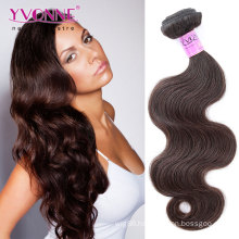 Color #2 Body Wave Peruvian Remy Human Hair