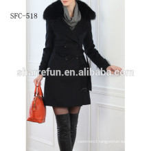 Many fashional Pure cashmere overcoat manufacturer from China